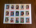 1970-71 Topps Hockey Sticker Stamps Complete Set NM+ Includes Bobby Orr PSA 7