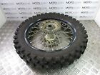 Husqvarna te 449 tc 449 450 2011 rear wheel rim with good tyre sprocket