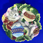 Fitz and Floyd Kristmas Kitty Canape Plate 9