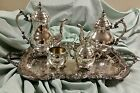 5pc 1883 FB Rogers Coffee Tea Set with Tray - Exquisite Condition - No Monograms