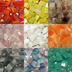 1 2 Mosaic Tiles Stained Glass Mosaic Tiles Available in Variety Colors