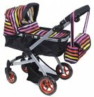 Like Bugaboo DOLL Baby Dolls Bassinet Stroller With Diaper Bag NEW MUST SEE