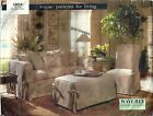 Vogue Patterns for Living 1904 Slipcovers Waverly Designer Collection Uncut