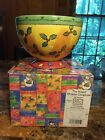 Sango The Sweet Shoppe Christmas Footed Candy Bowl Sue Zipkin 0995-189
