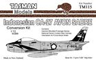1:72 TASMAN Avon Sabre Conversion Kit  Indonesian AF