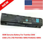 Genuine Toshiba Satellite C50D A C55T A5378 C75D A7286 Battery PA5109U 1BRS