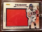 Tim Tebow 2013 Panini Fathers Day Jumbo Jersey Patch Card Denver Broncos