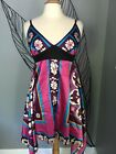 •SALE• MKM• Stretch Womens Juniors Handkerchief Dresss Size  Small NEW W/TAGS
