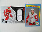 Jonathan Ericsson 2008 09 OPC Retro Rookie Card & Black Diamond Jersey Red Wings