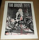 The Drove The Fall Outs Wiretaps concert poster Art Chantry signed 3B tavern
