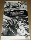 The Fumes Empty Records concert promo Art Chantry poster signed