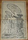 Master Jenkins And His Butler newsprint theatre promo poster signed Art Chantry