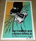 Rocket From The Crypt Drags Crocodile Cafe concert poster Art Chantry signed