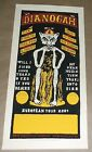 Dianogah Jay Ryan band concert poster Art Chantry
