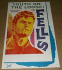 The Fells Estrus promo blank concert poster 1994 Art Chantry signed