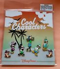 Disney Trading Pins COOL CHARACTERS Mickey Goofy Minnie  more Set of 7 NEW