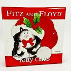 Fitz & Floyd Kitty Claus Ceramic 8
