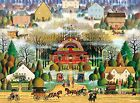 Buffalo Games Melodrama in the Mist by Charles Wysocki Jigsaw Puzzle 1000 Piece