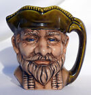 Colonial or Pirates Man Face Vintage Mug Hand Painted Enesco ? Toby ? coffee cup