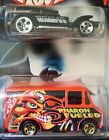 Hot Wheels 2002 Halloween Highway 2 Pack The Demon and Combat Medic Dmg Card 1