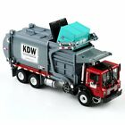 124 Scale Diecast Material KDW Transporter Garbage Truck Vehicle Car Model Toys