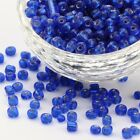 4500pcs 60 Glass Seed Beads Silver Lined Rocaille Loose Beads Smooth Tiny 4mm