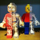 Brick Man Human Anatomy Set of 2 New