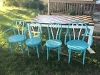 Thonet style Bentwood Chairs and Table