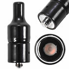 USA Black Ceramic Donut Coil Thick Oil Dry Herb Wax Tank Heating Attachment 510