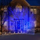 Lightshow LED Projection Kaleidoscope Christmas Lights Icy Blue