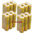 8X 18650 3.7V 9800mAh Yellow Li-ion Rechargeable Battery Cell For EmergencyTorch