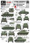 Star Decals 1/35  7th Armoured Division - Desert Rats in NW Europe 35892