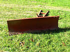 WHEEL HORSE 54 LAWN AND GARDEN TRACTOR SNOW PLOW