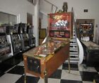FIRE! PINBALL MACHINE by WILLIAMS  ~ CHAMPAGNE EDITION ~ LED UPGRADE + NEW BRASS