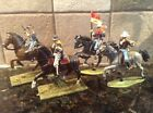 Toy Soldiers 4 Plastic 54mm Mounted US Cavalry Troopers