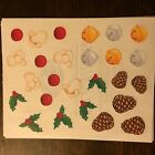 Creative Memories Christmas block Stickers Strips