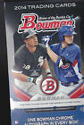 2014 Bowman Baseball Hobby Box Factory Sealed AUTOGRAPHS 24 packs Kris Bryant