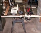Craftsman 10 Table Saw 3 HP Belt Drive Align A Rip Rollers Blades
