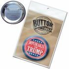 Deplorables for Donald Trump Button funny 2016 225 Pin for Mike Pence