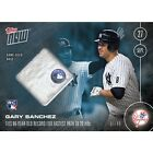 2016 TOPPS NOW #509-C RELIC # 49 GARY SANCHEZ (RC) 85 YEAR RECORD TYING 20TH HR