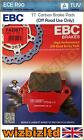 EBC Rear Carbon TT Brake Pads CCM R 45 07-09 FA208TT