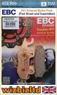 EBC Front Left Sintered HH Brake Pads Kymco Hipster 125/150 99-06 FA197HH