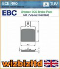 EBC Front Left Organic Brake Pads Gilera RX 200/Arizona/Enduro 85- FA47