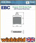 EBC Front Left Organic Brake Pads Malanca 125 ob one M6 Racing 85- FA60