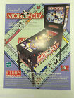 Monopoly Stern 2001 Pinball Promotional NOS ORIGINAL ARCADE FLYER CLASSIC