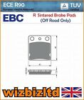 EBC Rear Sintered R-Series HD Brake Pads Hyosung TE 450 Quad Rapier 06-09 FA54R