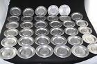 1972 WILTON ARMETALE PRESIDENT PLATE COLLECTION 35PC LOT COMPLETE LIKE PEWTER