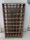 Antique Postal Pigeon Hole Cabinet. Oak. Late 1800's Tobacco Display Cigarette