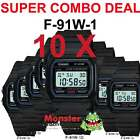 CASIO WATCH COMBO DEAL FREE POST FROM SYDNEY RETRO 10 x F-91W-1