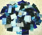 3 LB BLUE TONE Mixed Value Pack Stained Glass Mosaics